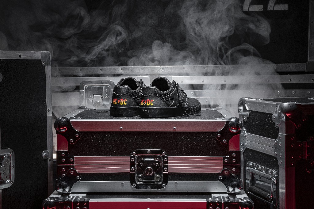AC/DC Launch DC Shoes Collaboration for 40th Anniversary of 'Back in Black'