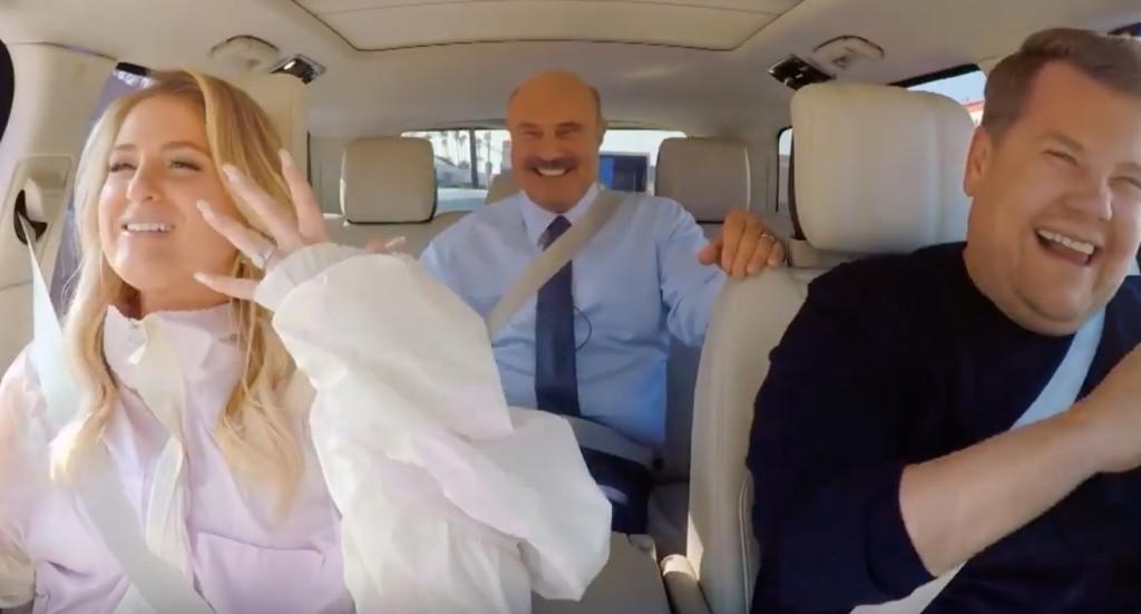 Watch Meghan Trainor Fan Out Over Dr. Phil on 'Carpool Karaoke'