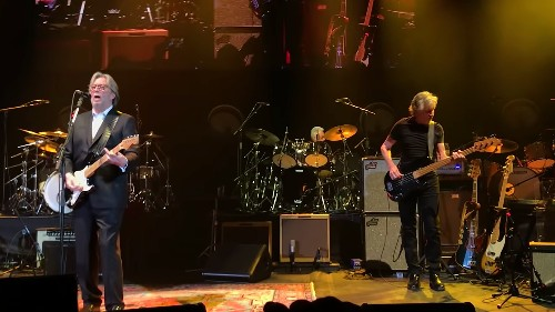 Watch Eric Clapton and Roger Waters Honour Ginger Baker With 'Sunshine of Your Love'