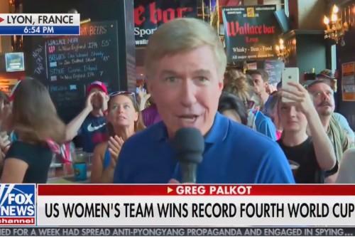 'F-ck Trump' Chants Interrupt Fox News World Cup Broadcast from Bar in France