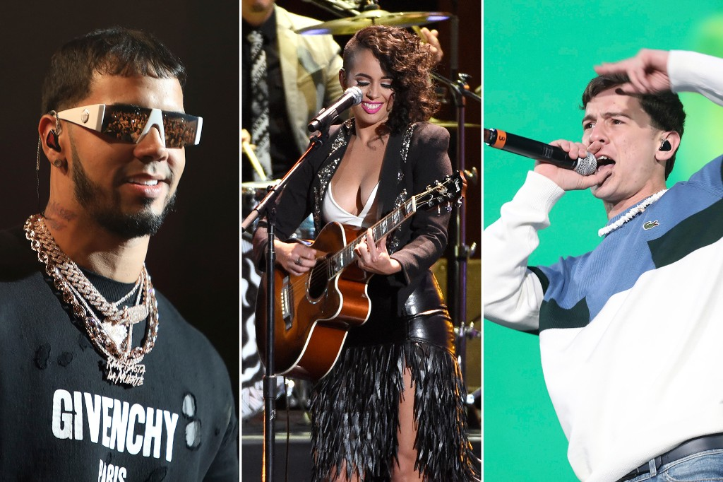 Anuel AA, Guaynaa, Raquel Sofia Join 2020 Latin Grammys Performers