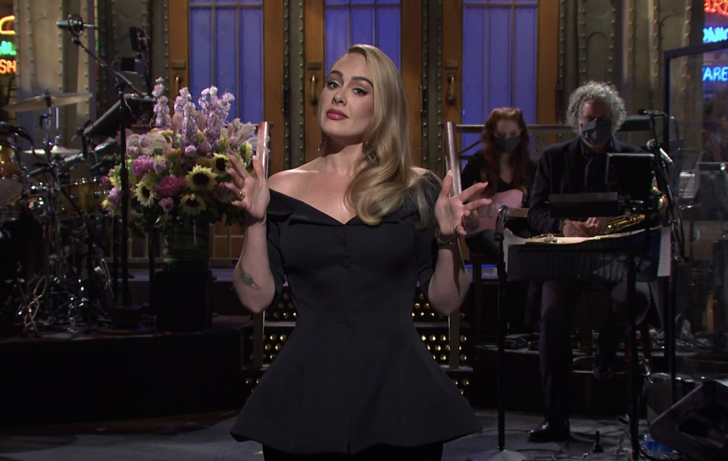 Adele Reveals on 'SNL': 'My Album's Not Finished'