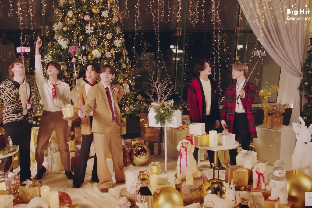 BTS Release Holiday Version of Their Hit Song 'Dynamite'