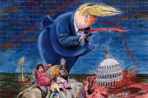 US Politics Trump Era 2016-2020 - cover
