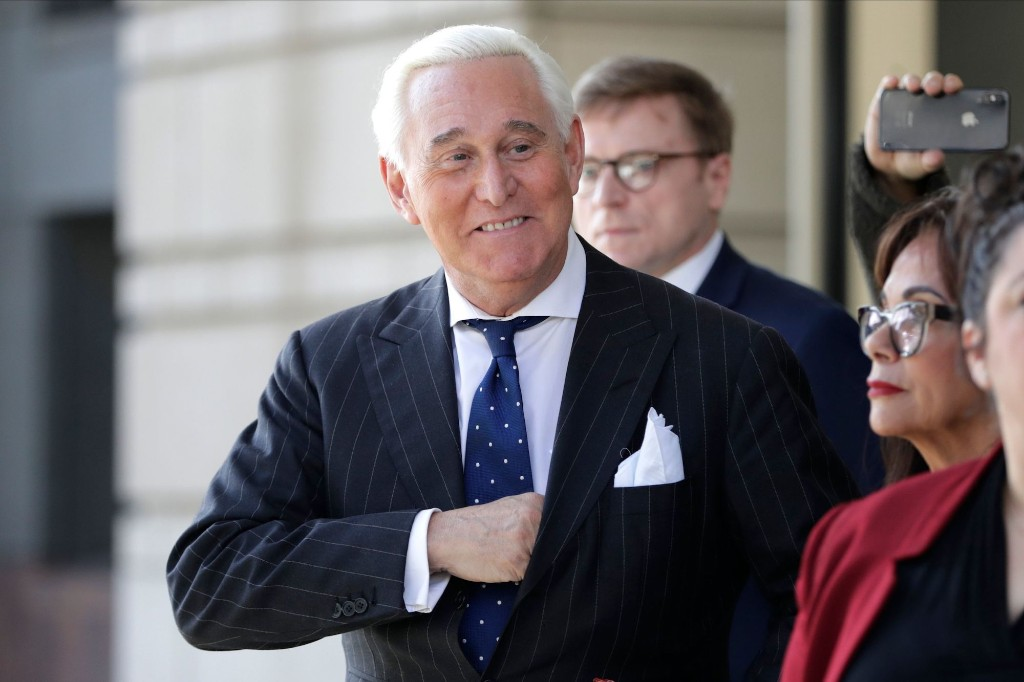 Trump's Rescue of Roger Stone Is a Brazen Act of Self-Protection