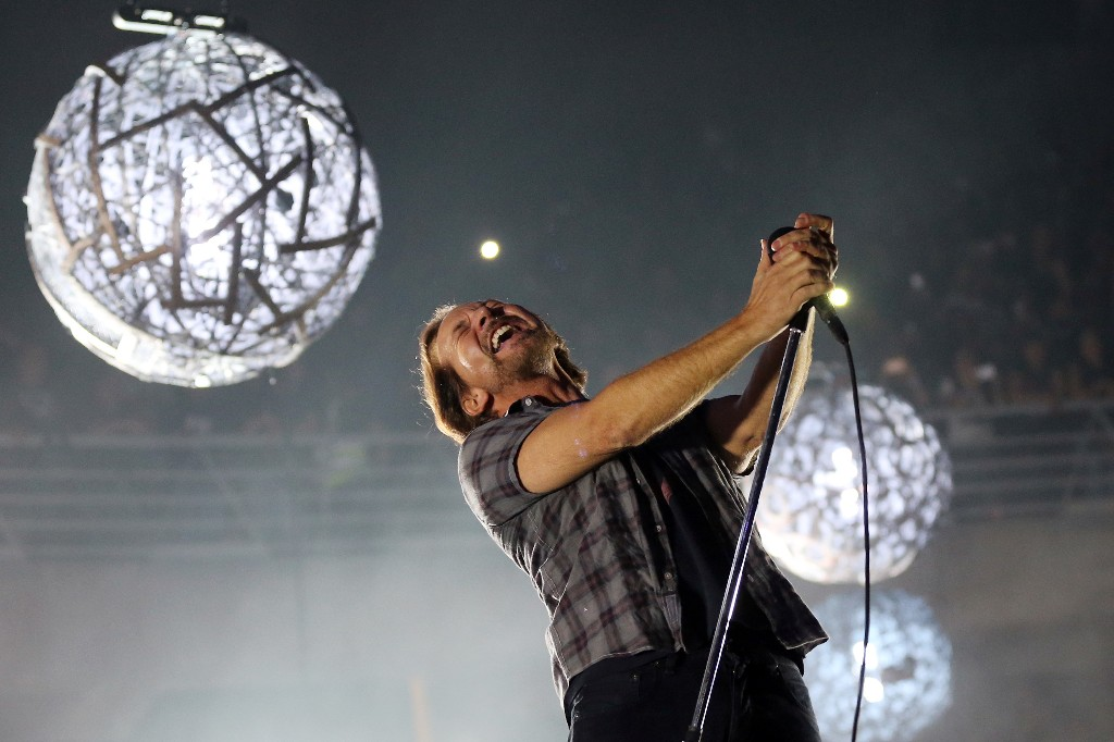 Hear Pearl Jam's New Single 'Superblood Wolfmoon'