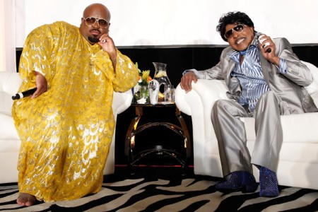 Little Richard Tells Cee Lo About Recent Heart Attack