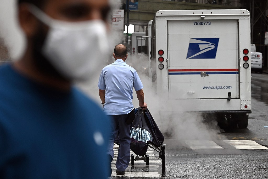 Trump Tampers With Postal Service After Months of Railing Against Vote-by-Mail