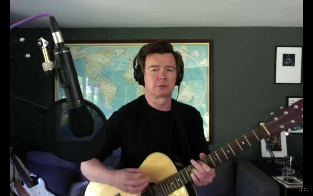 Watch Rick Astley Cover Foo Fighters' 'Everlong'