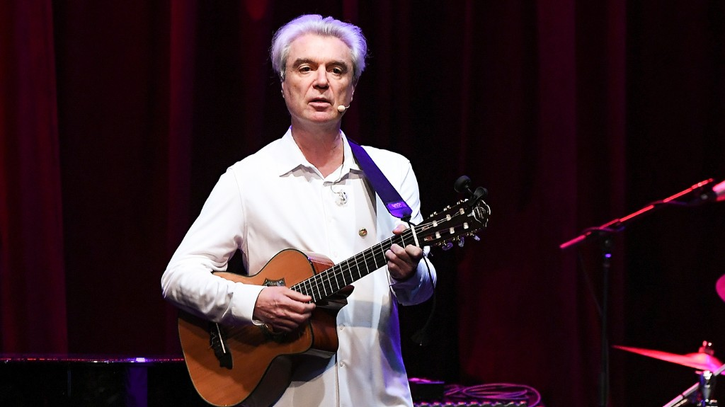 Hear David Byrne Team With Oneohtrix Point Never on 'This Is That'