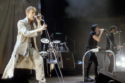 Flashback: David Bowie Sings 'Hurt' With Nine Inch Nails