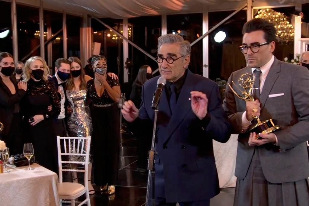 Emmys 2020: 'Schitt's Creek,' 'Watchmen,' 'Succession' Win Big