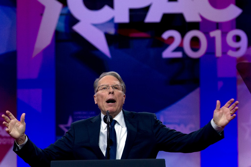 NRA Chief Pays Back $300,000 in Illicit Gains: Report