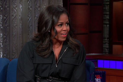 Michelle Obama Tells Colbert, 'There Wasn't Any Room for Anybody in Our Administration to Be Indicted'