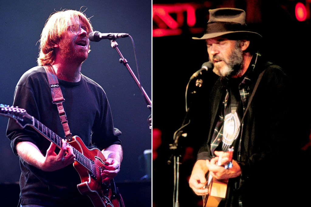 Flashback: Neil Young and Phish Play an Epic, Weed-Fueled 'Down by the River'