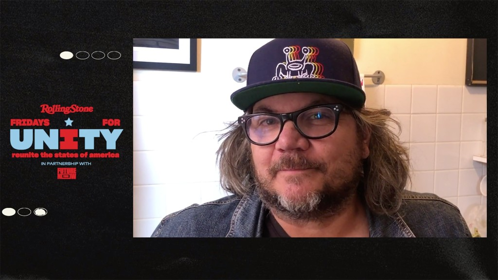 Jeff Tweedy Encourages Voting, Performs Wilco's 'Everlasting Everything'