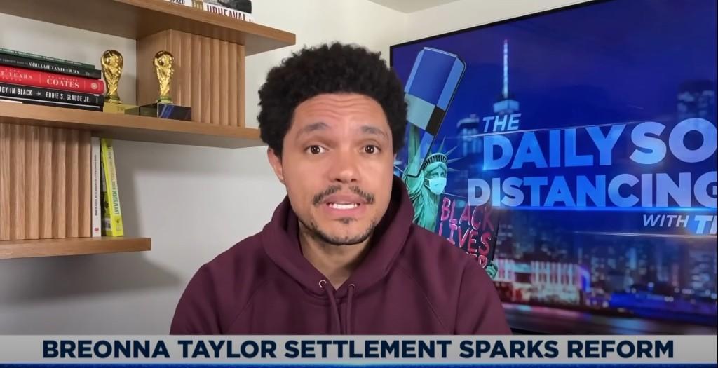 Trevor Noah Addresses Breonna Taylor Settlement on 'The Daily Show'