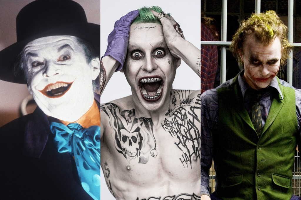 A Deck of Jokers: Ranking the Movies' Clown Princes of Crime