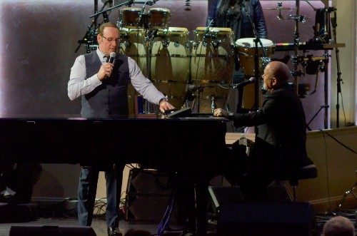 Watch Kevin Spacey Perform 'Piano Man' With Billy Joel