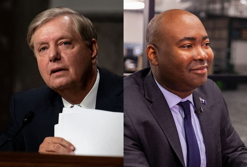 Jaime Harrison raises $1 million overnight after new survey shows him tied with Lindsey Graham