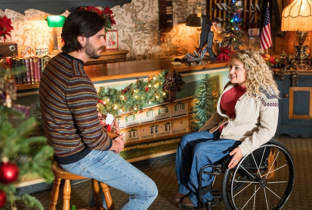 """""""Christmas Ever After"""": Ali Stroker hopes to give disabled girls a romantic heroine"""