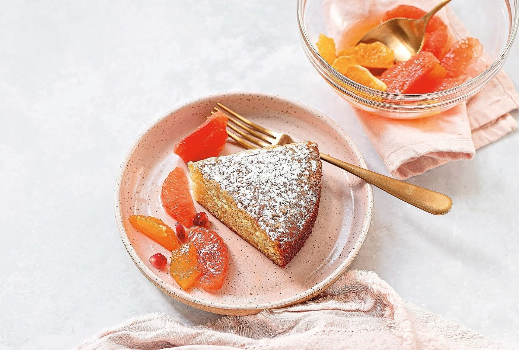 "Karen Tedesco's orange flower olive oil cake from ""Family Style"" is a feast for your eyes"