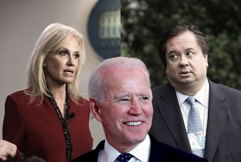 George Conway contributes the maximum amount to Joe Biden's presidential campaign