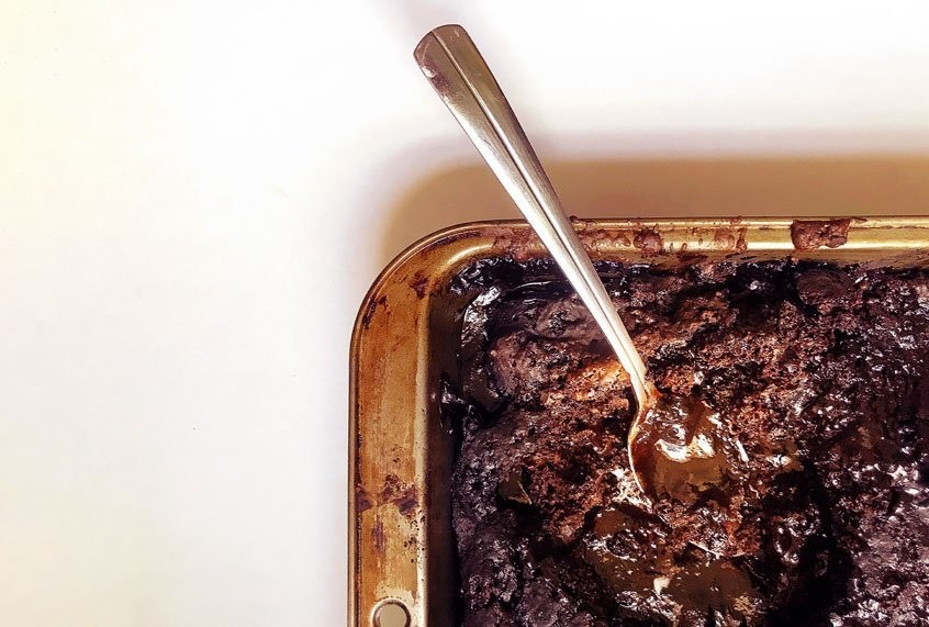 Hot fudge cake is an easy alternative to a restaurant classic