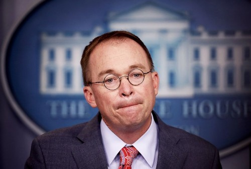 "White House chief of staff Mick Mulvaney caught on tape saying US is ""desperate"" for more immigrants"