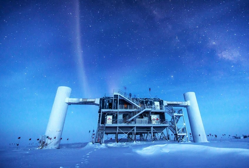 Weird neutrinos detected in Antarctica could open the door to new physics discoveries