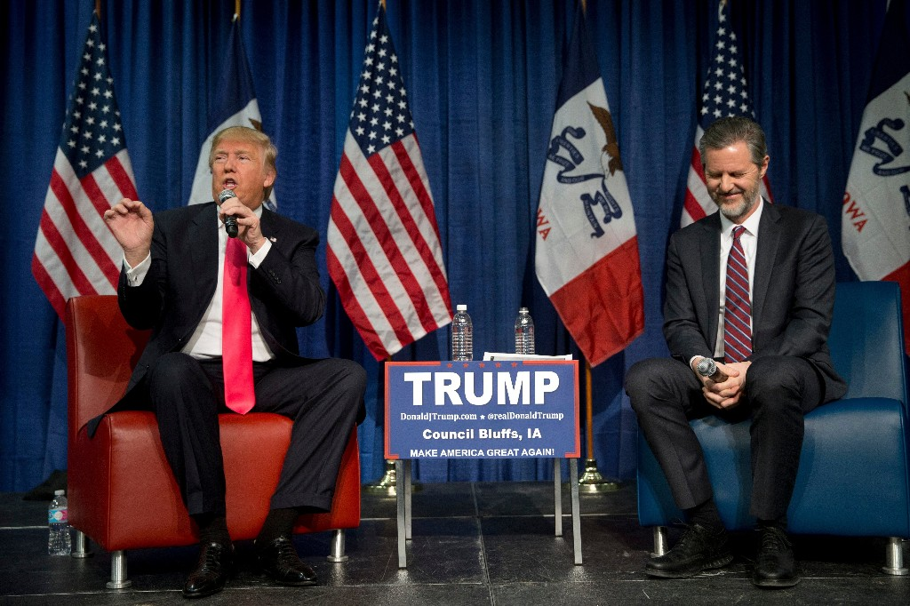 Jerry Falwell Jr. is the true face of white evangelicals — and dumping him changes nothing