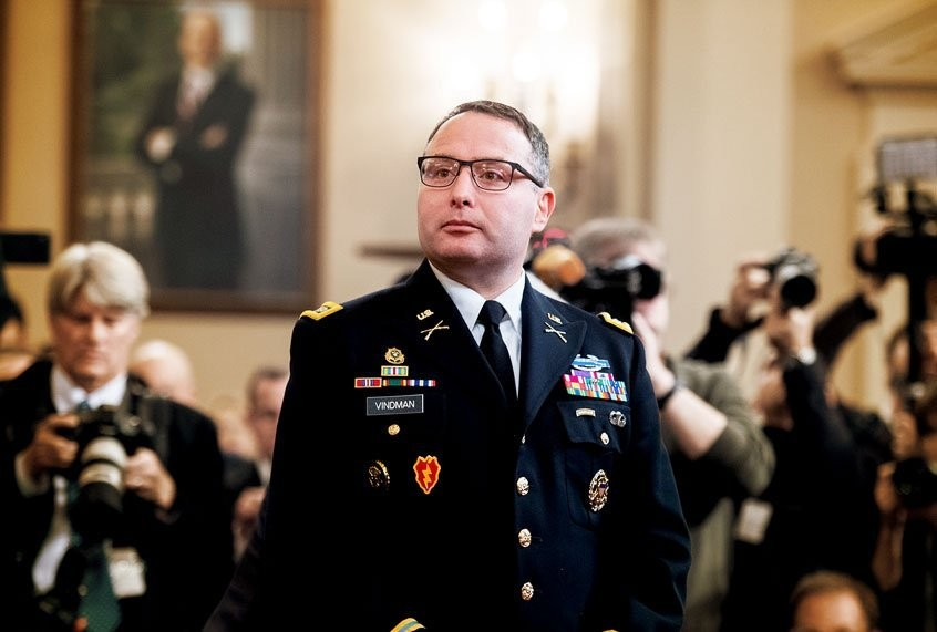 The colonels list: Why is Alexander Vindman being driven out of the Army? He's not a suck-up