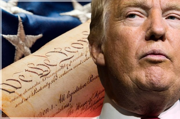 It's Donald Trump vs. the Constitution: And all this time you thought his opponent was Hillary Clinton