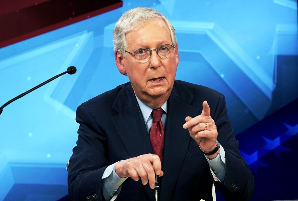 Expect to see a lot of Mitch McConnell in 2021