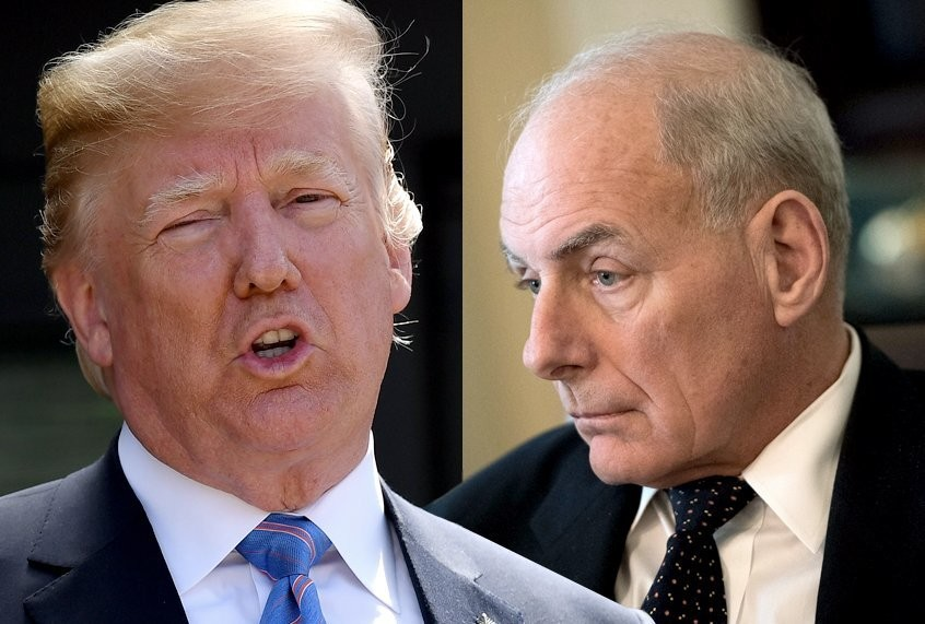 "John Kelly fact-checks Trump's claim that he fired Mattis: ""The president has clearly forgotten"""