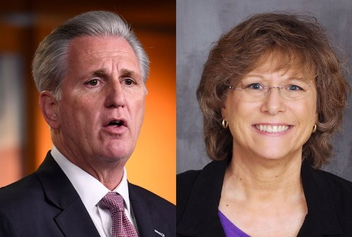 """Kevin McCarthy's opponent says blatant racism is """"definitely"""" a reason to take him down"""