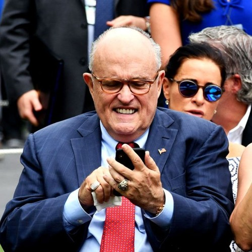 """Who is Rudy Giuliani's friend """"Charles""""? An accidental text may have outed his identity"""