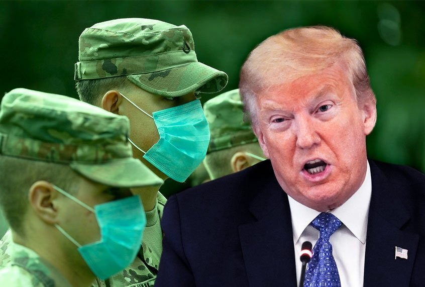 Once a con man, always a con man: Now Trump is cheating frontline workers and National Guard troops