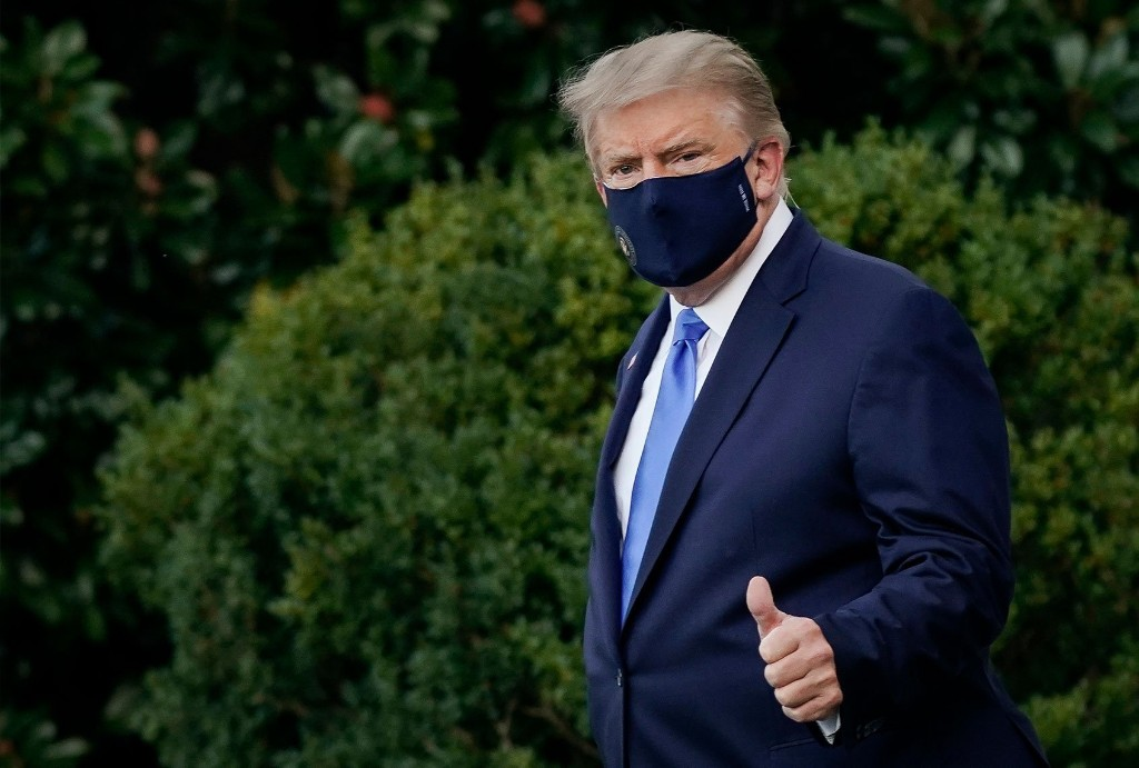 """Donald J. Trump defeats COVID"": The absurd Soviet-style propaganda campaign around his illness"