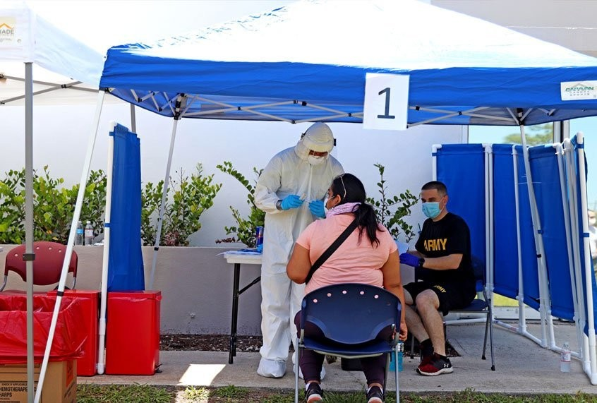 """""""The highest coronavirus infection rate in the world"""": Florida farmworkers in peril"""