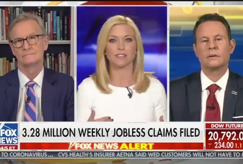 """""""Fox & Friends"""" host complains she can't get her nails done: """"People are dying, and I realize that"""""""