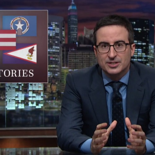 John Oliver reveals the stunningly racist history behind why some U.S. territories can't vote