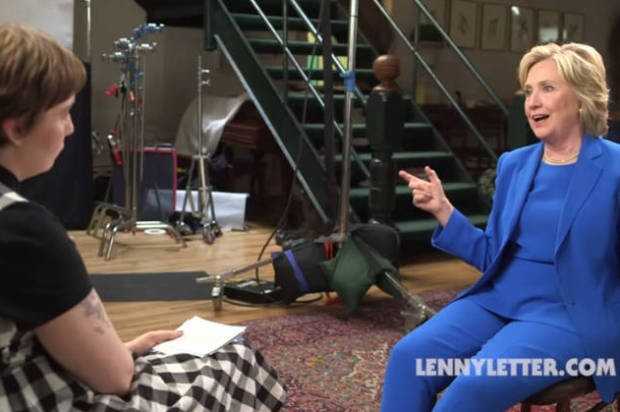 """Hillary Clinton opens up to Lena Dunham: """"I'm a feminist, and I say it whenever I'm asked"""""""