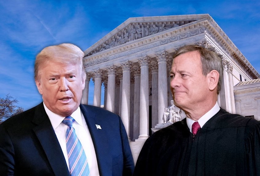 Trump's re-election plan keeps hitting a major obstacle: Chief Justice John Roberts