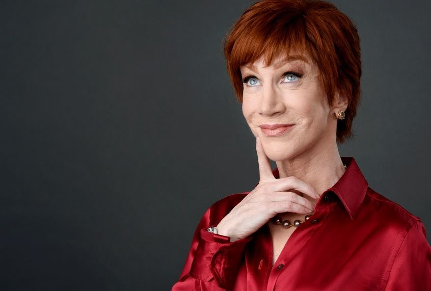 Kathy Griffin is used to the death threats now. And she's not backing down