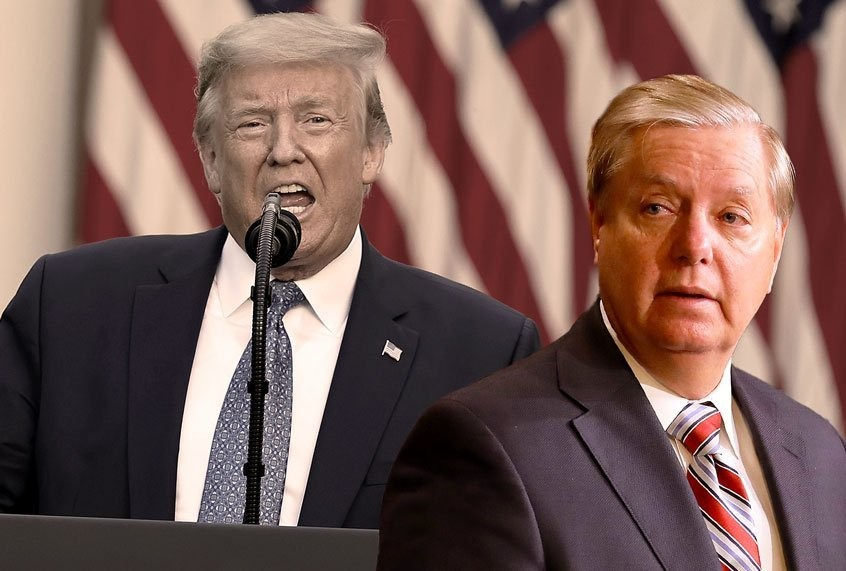As COVID deaths mounted, Lindsey Graham kept moving the goalposts for Trump