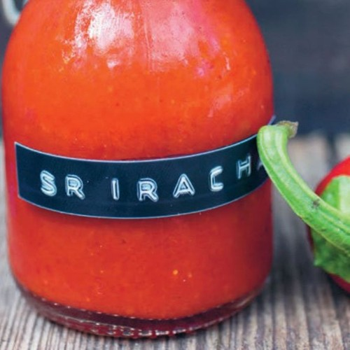 Add this homemade sriracha sauce to pizza, spring rolls or beer