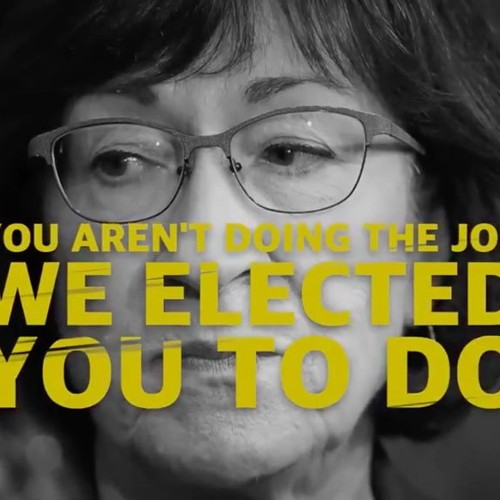"""Conservative group co-founded by George Conway releases ad skewering Susan Collins: """"Do your job"""""""