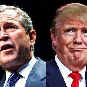 George W. Bush may be the only person in the world who can force Trump out of office