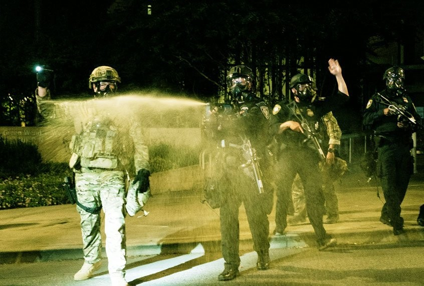 No one really knows what ill effects expired tear gas is having on Portland protesters